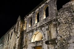 Alte Stadt der Spalte Stockbild