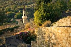 Alte Stadt des Stabes in Montenegro Lizenzfreie Stockfotos