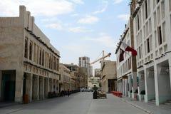 Alte Stadt, Doha, Katar Lizenzfreies Stockfoto