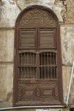 Alte Stadt in Dschidda Saudi-Arabien bekannt als historisches Dschidda Alt und Erbe Windows und Türen in Dschidda Schattierte Ent stockfoto