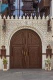 Alte Stadt in Dschidda, Saudi-Arabien bekannt als historisches Dschidda Alt und Erbe Windows und Türen in Dschidda Schattierte En stockbilder
