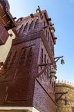 Alte Stadt in Dschidda, Saudi-Arabien bekannt als historisches Dschidda Alt und Erbe Windows und Türen in Dschidda Schattierte En stockfotos