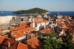 Alte Stadt in Dubrovnik Stockfoto