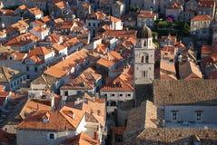 Alte Stadt in Dubrovnik Stockfotografie