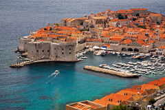 Alte Stadt Dubrovnik Stockfoto