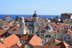 Alte Stadt Dubrovnik Lizenzfreies Stockfoto