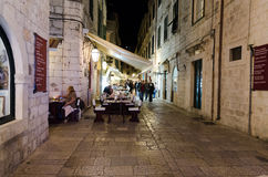 Alte Stadt, Dubrovnik, Kroatien stockfotos