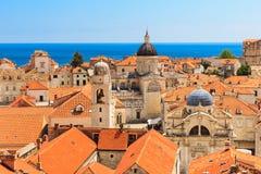 Alte Stadt Dubrovnik, Kroatien stockfotos