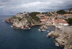 Alte Stadt Dubrovnik Kroatien Stockbilder