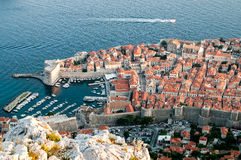 Alte Stadt Dubrovniks Stockfotografie