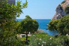 Alte Stadt Dubrovniks Stockfotos