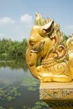 ALTE STADT-ELEFANT THAILANDS BANGKOK SAMUT PRAKAN Lizenzfreie Stockbilder
