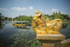 ALTE STADT-ELEFANT THAILANDS BANGKOK SAMUT PRAKAN Stockfotografie