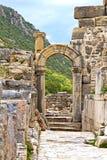 Alte Stadt Ephesus stockbilder