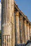 Alte Stadt Euromus oder Euromos Tempel von Zeus Lepsinos Milas, Mugla, die Türkei Kyromos, Hyromos Übersetzung von: engagiert lizenzfreies stockfoto