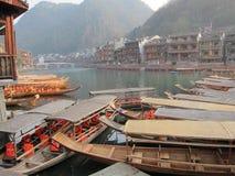 Alte Stadt Fenghuang Stockbild