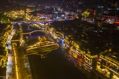 Alte Stadt Fenghuang, südwestlich des Provinz Hunans stockfotos