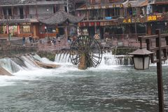 Alte Stadt Fenix Chinas Fenghuang Stockbild