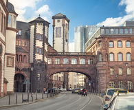 Alte Stadt Frankfurts am Main Lizenzfreie Stockfotografie