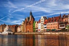 Alte Stadt in Gdansk stockbild