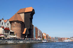 Alte Stadt in Gdansk, Polen Lizenzfreies Stockfoto