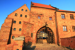 Alte Stadt in Grudziadz Lizenzfreie Stockbilder