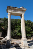 Alte Stadt Hadrians-Tor Ephesus Lizenzfreie Stockbilder