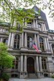 Alte Stadt Hall Boston Stockbilder