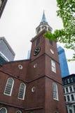 Alte Stadt Hall Boston Stockfotos