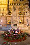 Alte Stadt Hall Cenotaph Torontos Lizenzfreie Stockfotografie