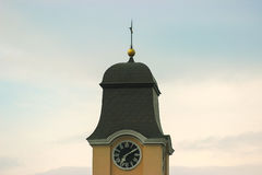 Alte Stadt Hall Clock Tower Lizenzfreies Stockfoto