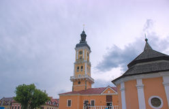 Alte Stadt Hall Clock Tower Stockfotos