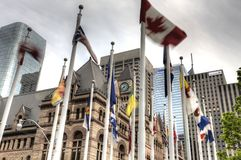 Alte Stadt Hall Toronto Lizenzfreies Stockbild