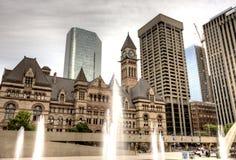 Alte Stadt Hall Toronto Lizenzfreie Stockfotos