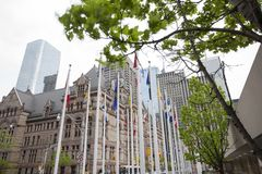 Alte Stadt Hall Toronto Stockfotografie
