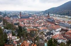 Alte Stadt Heidelbergs Stockfotos