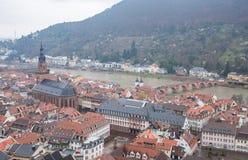 Alte Stadt Heidelbergs Stockfotografie