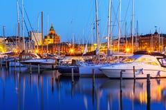 Alte Stadt in Helsinki, Finnland Stockbild