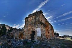 Alte Stadt Hierapolis Stockfotos