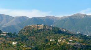 Alte Stadt Himare Stockbild