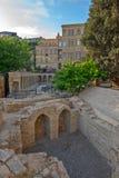 Alte Stadt im Baku-Stadtzentrum, Aserbaidschan Lizenzfreies Stockbild