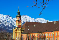 Alte Stadt in Innsbruck Österreich Lizenzfreie Stockbilder