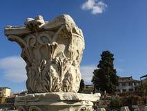 Alte Stadt Izmir-Agoras stockbild