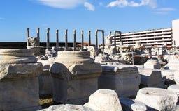 Alte Stadt Izmir-Agoras stockfoto