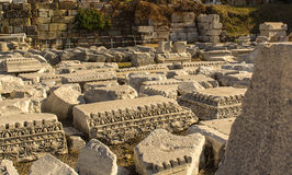 Alte Stadt Izmir-Agoras lizenzfreie stockbilder