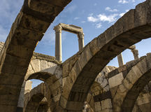 Alte Stadt Izmir-Agoras lizenzfreie stockfotografie