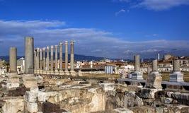 Alte Stadt Izmir-Agoras stockbilder