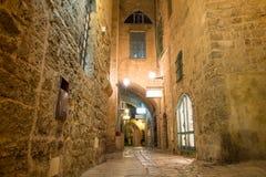 Alte Stadt Jaffa Stockbild