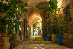 Alte Stadt Jaffa Stockfoto
