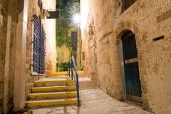 Alte Stadt Jaffas Stockfotos
